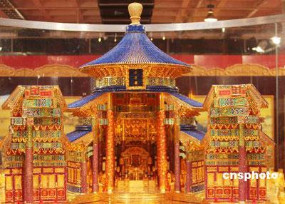 Храм неба из 200 тысяч драгоценных камней