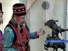 Выставка Даши Намдакова в краеведческом музее
