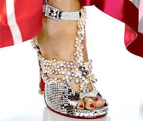 Жемчужные туфельки от Schoeffel