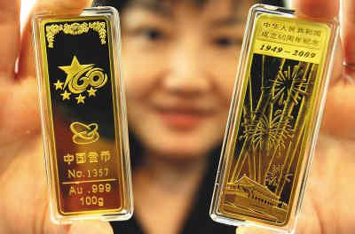 В Китае наступил золотой период в области потребления золота